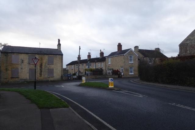 Chapel Lane meets High Street
