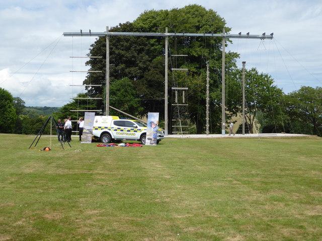 Coastguard display - Britannia Royal Naval College