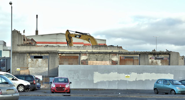 The Midland Building (demolition), Belfast - December 2017(1)