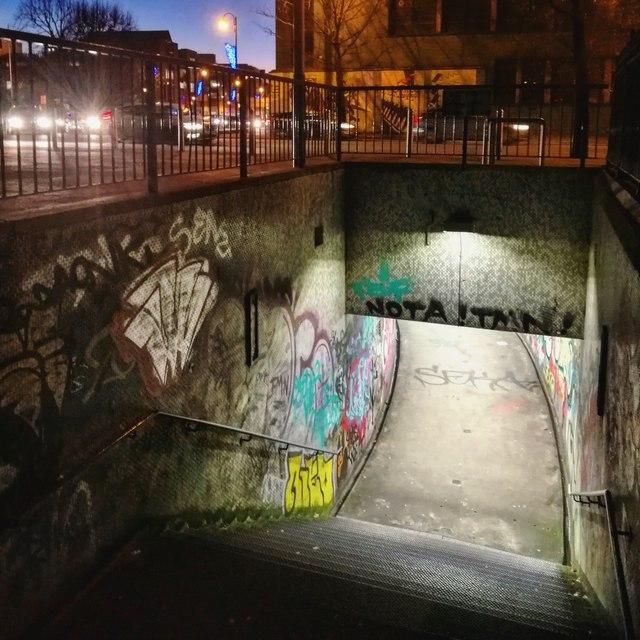 Subway entrance, Belfast