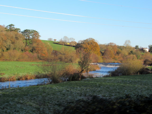 Pynes Weir River Exe