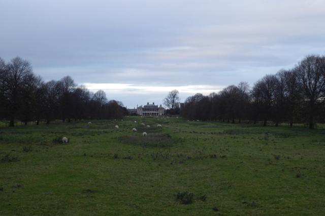 View towards Newton Kyme Hall
