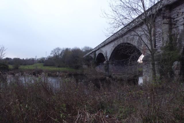 Viaduct and Wharfe