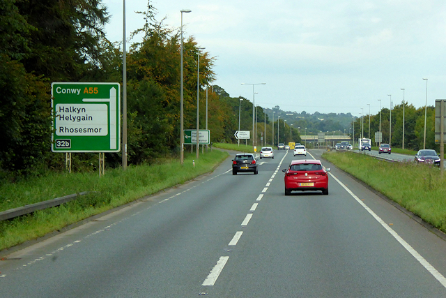 North Wales Expressway, Junction 32b