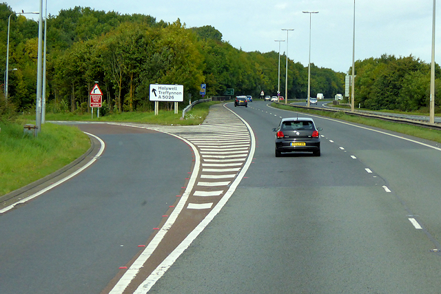 Junction 32, North Wales Expressway