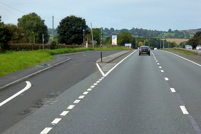 North Wales Expressway, Layby near to Pen-y-Cefn