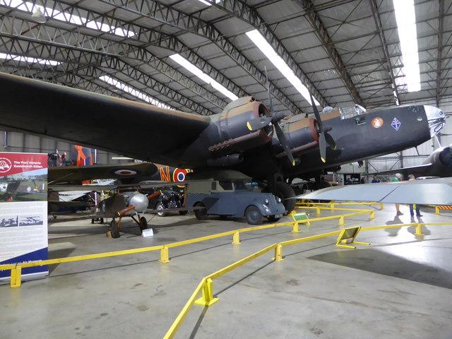 Yorkshire Air Museum - Halifax bomber