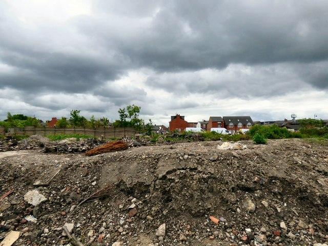 Derelict land off Denton Link Road.