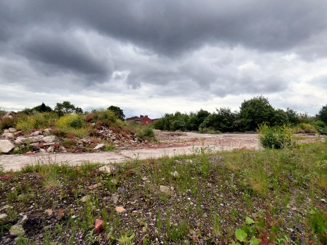 Derelict land off Denton Link Road.