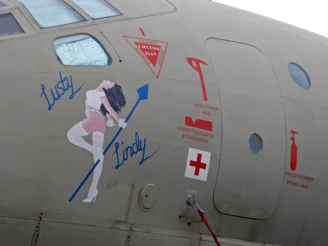Yorkshire Air Museum - nose art