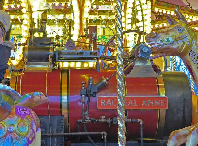 Worcester Victorian Market - gallopers