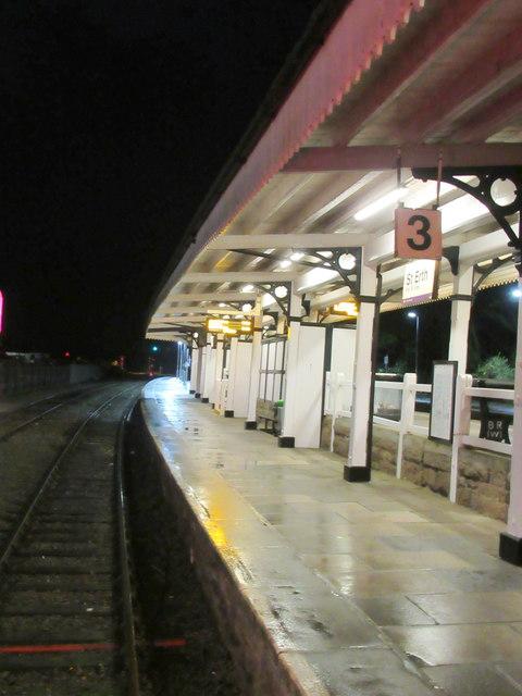 St Erth Station Bay Platform for St Ives Branch Line