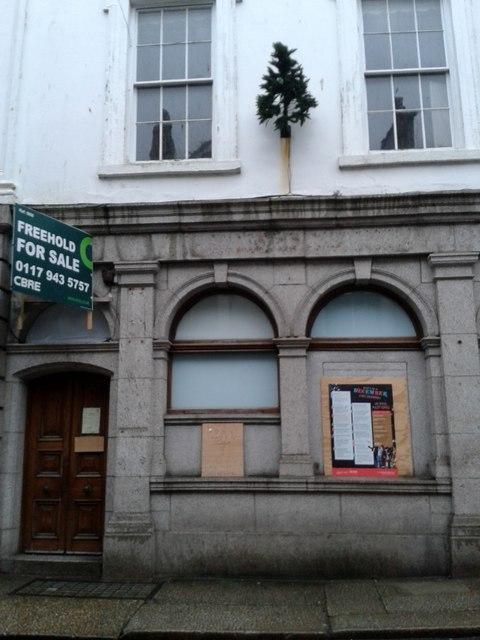 Sad Closed Midland/HSBC Bank St Ives