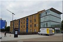 TQ4080 : Warehouse W, Royal Victoria Dock by N Chadwick