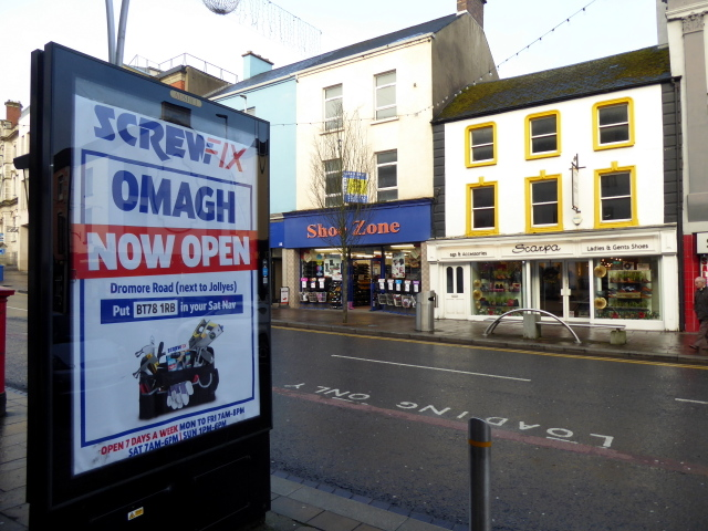 Advertising display, Omagh