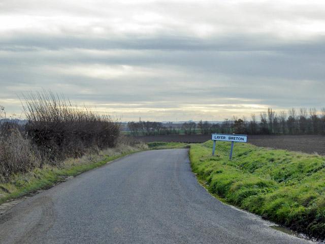 Layer Breton sign, Winter's Hill