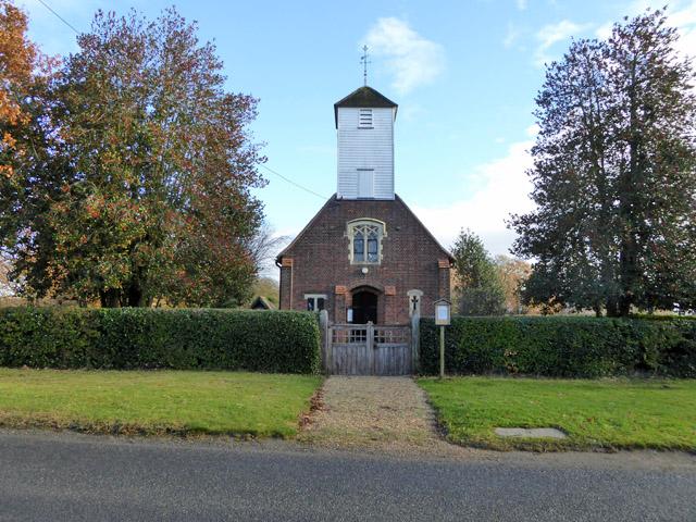 Layer Breton church
