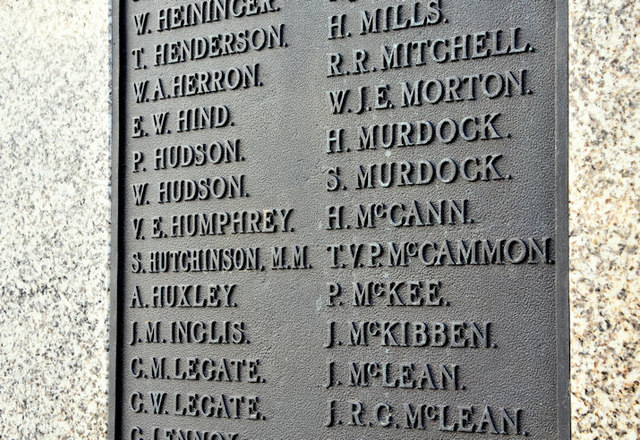Holywood war memorial - December 2017(2)