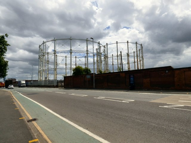 Gas Holders at New Windsor