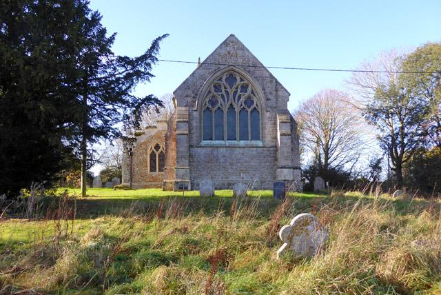 Great Wigborough church - east end