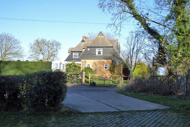 House near church, Great Wigborough