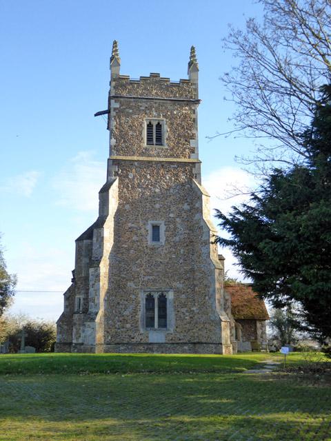 Great Wigborough church tower