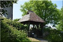 SX4249 : Lych gate, Church of St Germanus by N Chadwick