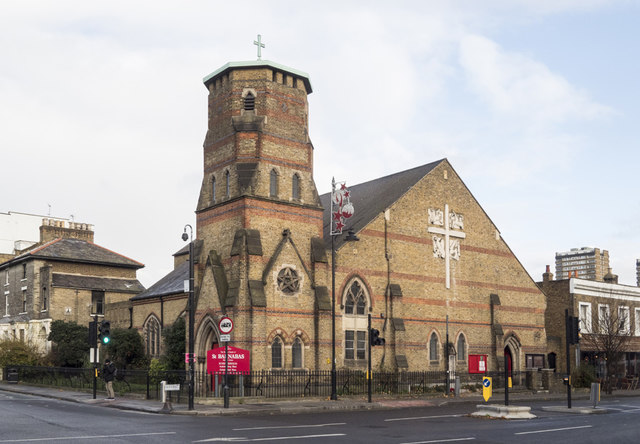 St Barnabas, Grove Road, Bethnal Green