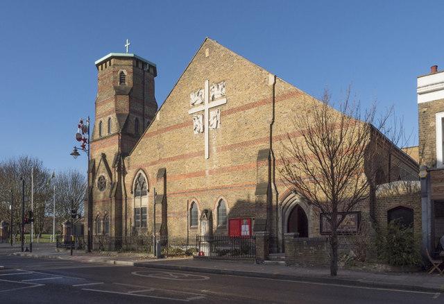 St Barnabas, Grove Road, Bethnal Green