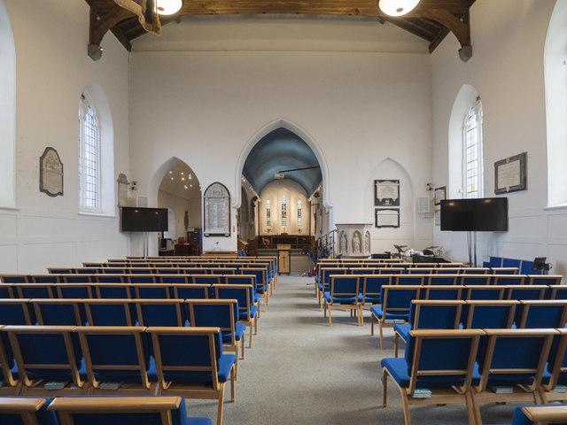 St Peter & St Paul, Church Lane, Dagenham - East end