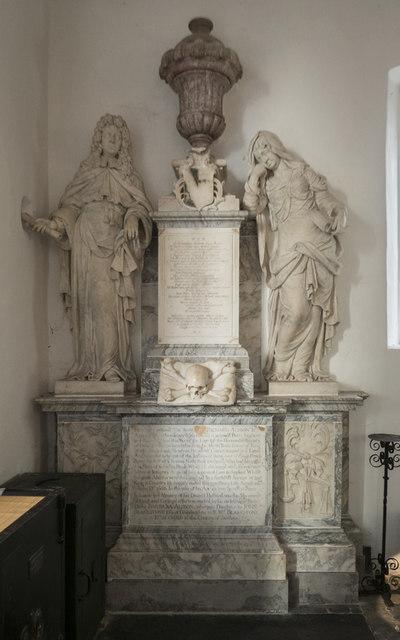 St Peter & St Paul, Church Lane, Dagenham - Monument