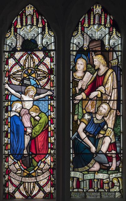 St Peter & St Paul, Church Lane, Dagenham - Stained glass window
