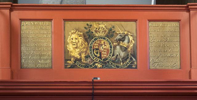 St Peter & St Paul, Church Lane, Dagenham - Royal Arms