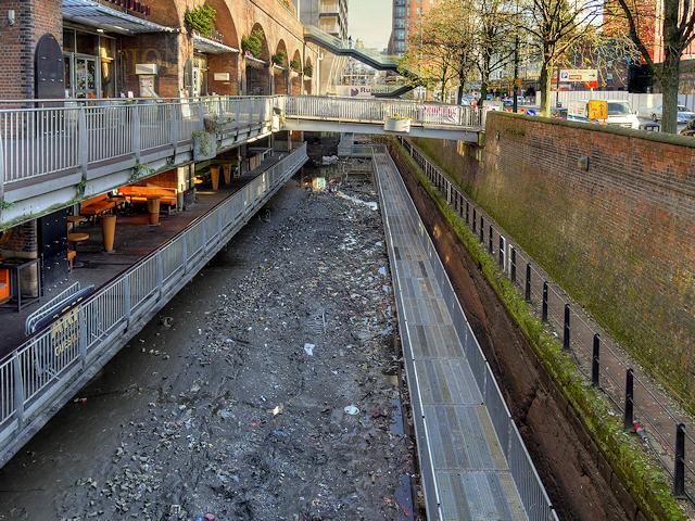 Rochdale Canal Restoration Work at Lock 91