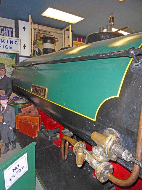 Bygones Museum, St Marychurch - locomotive