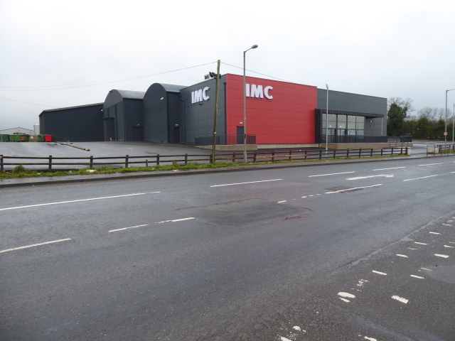 IMC cinema, Gillygooly Road, Omagh (side view)