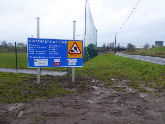 Strathroy link Road notice