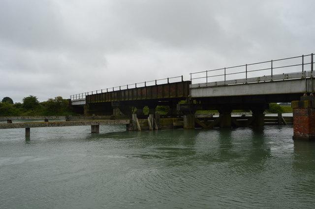 Viaduct across the River Arun