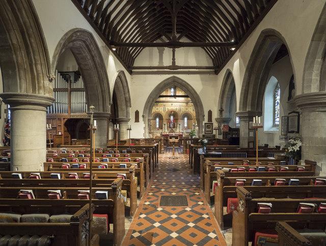 St Mary the Blessed Virgin, Addington - East end