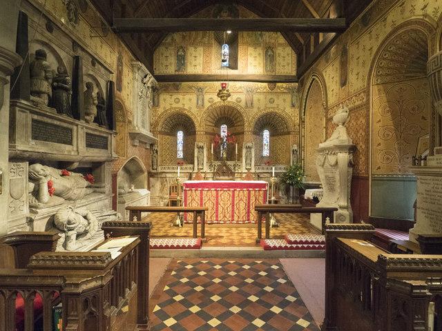 St Mary the Blessed Virgin, Addington - Chancel