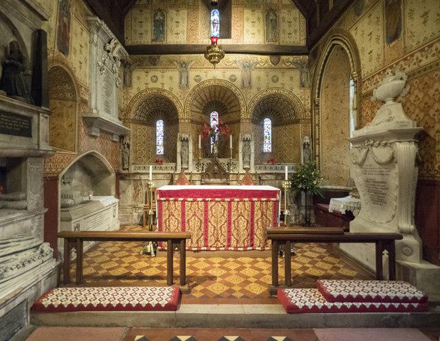 St Mary the Blessed Virgin, Addington - Sanctuary