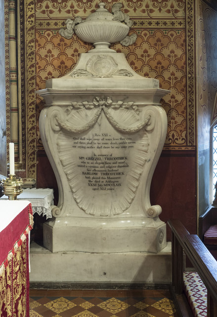St Mary the Blessed Virgin, Addington - Monument