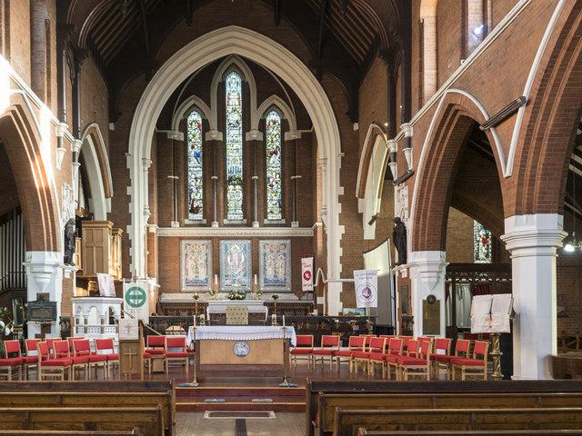All Saints, Hampton Road, Forest Gate - East end