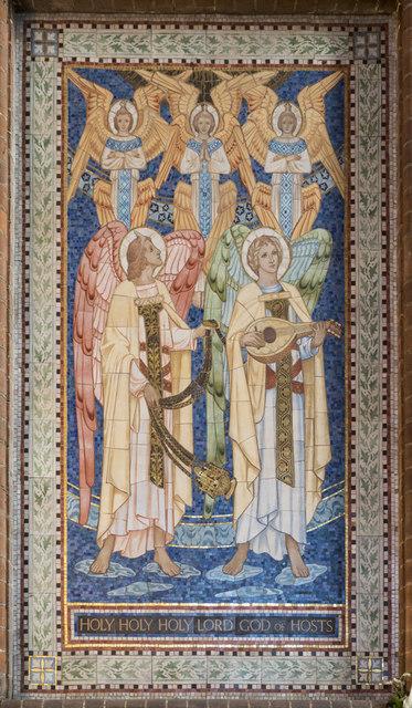 All Saints, Hampton Road, Forest Gate - Opus sectile