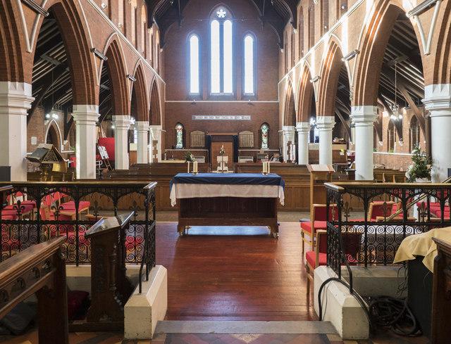 All Saints, Hampton Road, Forest Gate - West end