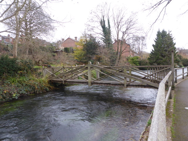 The River Itchen, Winchester