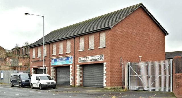 Nos 179-181 Beersbridge Road, Belfast (December 2017)