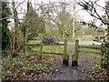 SJ8280 : Squeeze stile at a footpath crossing by Graham Hogg