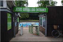 TL4559 : Jesus Green Lido by N Chadwick