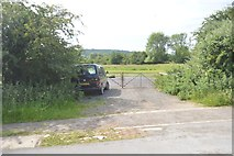 SP4510 : Gate by the A40 by N Chadwick